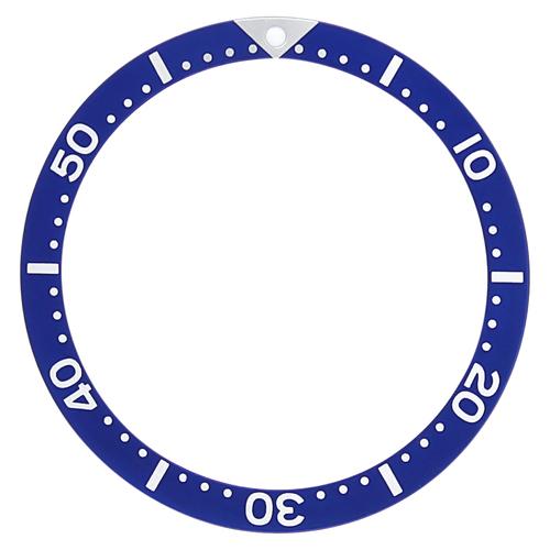 BEZEL INSERT FOR SEIKO 7002 6309 7S26 SKX007K2 7S26-0030 DIVER AUTOMATIC BLUE