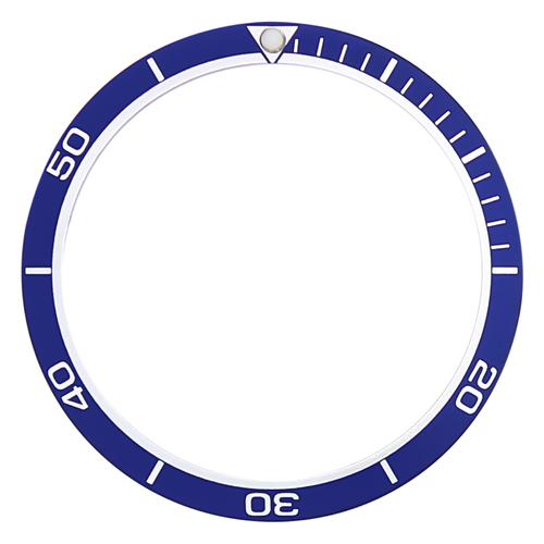 BEZEL INSERT FOR SEIKO 7002,6309-7040,7S26,SKX007K2,7S26 DIVER PLANET OCEAN BLUE