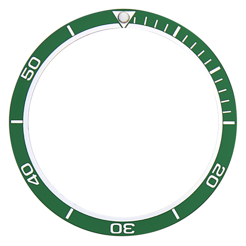 BEZEL INSERT FOR SEIKO WATCH 7002,6309,SKX007K2,7S26 DIVER PLANET OCEAN GREEN
