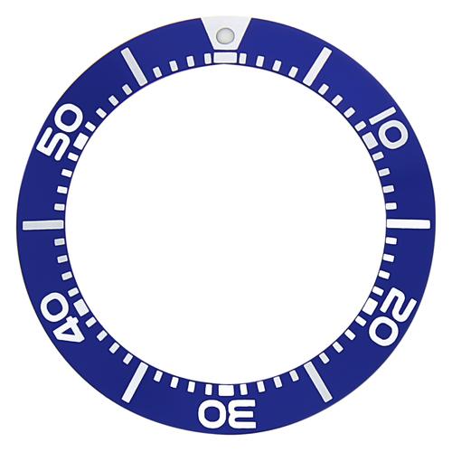 BEZEL INSERT FOR SEIKO DIVER WATCH SBCZ011 SBCZ013 SKA367P SKA371P SKA413P BLUE