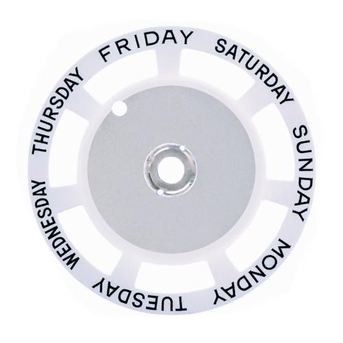 DAY DISC FOR MOVEMENT TUDOR 76213-79160-79170-79180-79260-79270-79280 WHITE