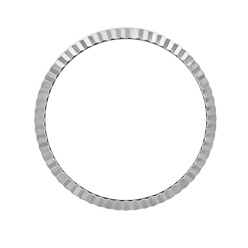 FLUTED  BEZEL FOR 31MM ROLEX MIDSIZE 6824  68273 68274 67480 77080 STAINLESS ST