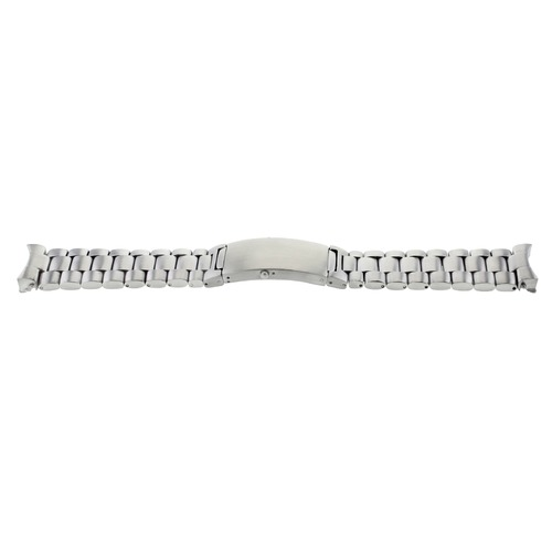 22MM WATCH BAND BRACELET  FOR MENS OMEGA SPEEDMASTER MOON WATCH STAINLESS STEEL