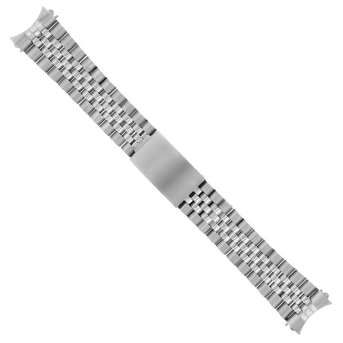 19MM JUBILEE WATCH BAND BRACELET FOR GRAND SEIKO 5 SNXS79 STEEL HVY TOP QUALITY