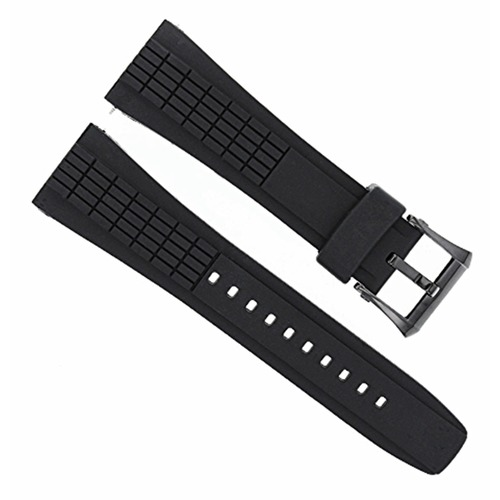 26MM RUBBER WATCH BAND STRAP FOR SEIKO VELATURA KINETIC 4LJ7MB - 4LJ7MBR SPC005