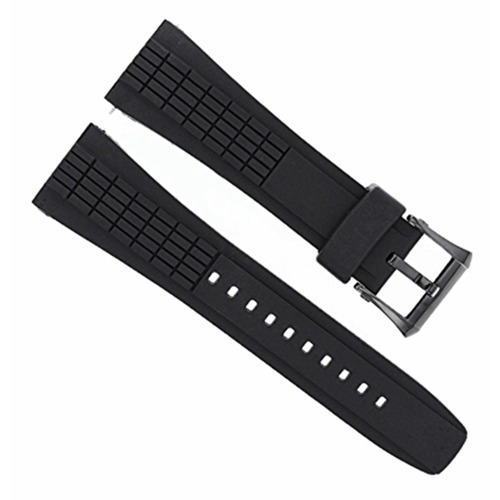 26MM RUBBER WATCH BAND STRAP FOR SEIKO VELATURA KINETIC 4LJ7MB-4LJ7MBR SPC005