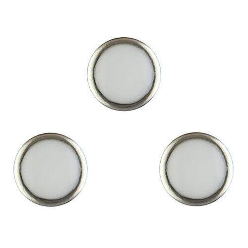 3 PEARL RING PIP FOR BEZEL INSERT ROLEX DEEPSEA 116660 WATCH BLUE LUMINOUS USA
