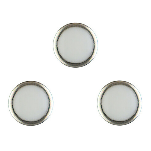 3 PEARL RING PIP FOR BEZEL INSERT FOR ROLEX DEEPSEA 116660 WATCH BLUE LUMINOUS