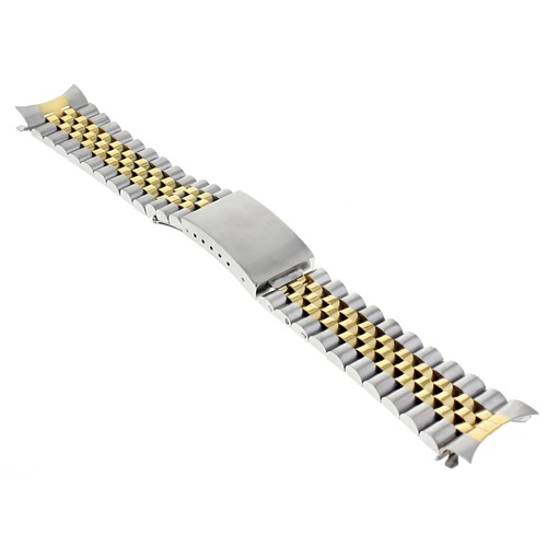 20MM GOLD/SS TWO TONE JUBILEE WATCH BAND 36MM ROLEX DATEJUST 16200 16233 16234