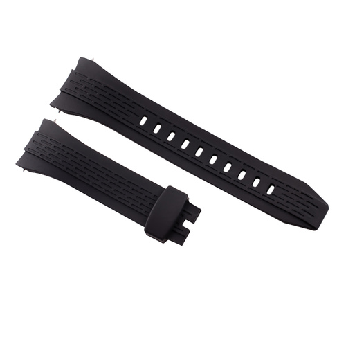 26MM RUBBER BAND STRAP FOR SEIKO VELATURA KINETIC 7T62- SRH006 SRH013 SNAE17