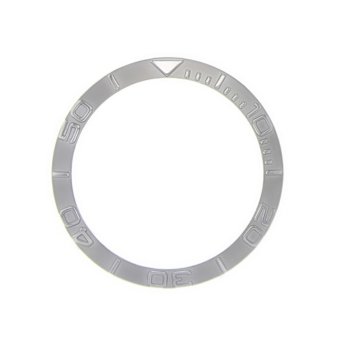 BEZEL INSERT FOR SEIKO YACTHMASTER  GMT  6309 7002 7S26 STAINLES STEEL WATCH