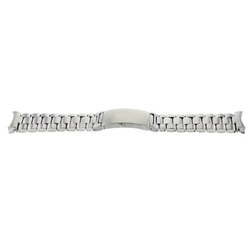 WATCH BAND SOLID LINK BRACELET FOR CASIO MDV106B-2AV RESIN WATCH 200 METER 22MM