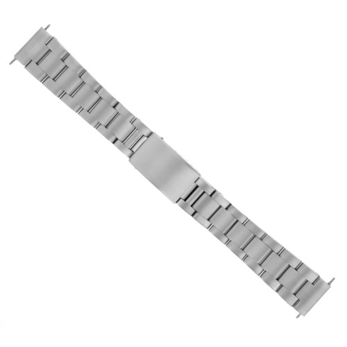 18MM SOLID HEAVY OYSTER BAND FOR ROLEX 75090 75190 DATE SUBMARINER STRAIGHT END