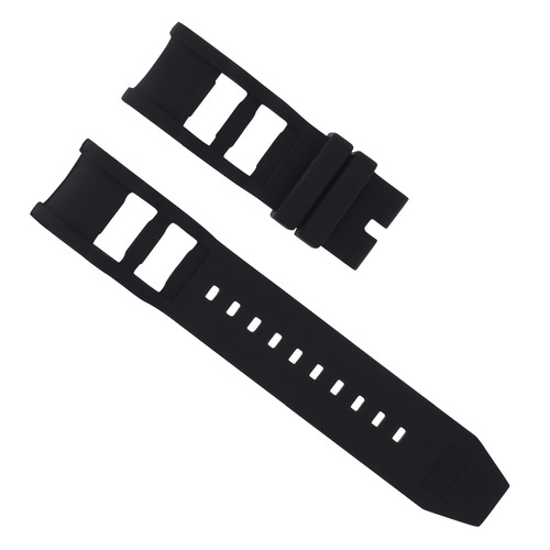 RUBBER WATCH BAND STRAP FOR INVICTA RUSSIAN DIVER 1201 1805 1845 WATCH 26MM