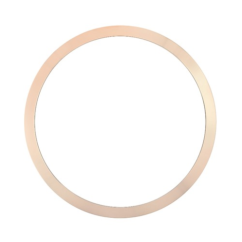 BEZEL FOR 34MM ROLEX OYSTER DATE 15000 15005 15200 15210 SMOOTH 14K ROSE GOLD