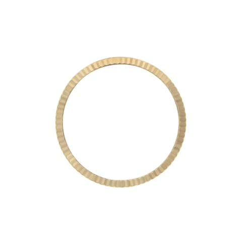 FLUTED BEZEL FOR 36MM ROLEX DATEJUST 116000 116200 116233 116234 18KY REAL GOLD