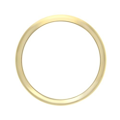 DOME BEZEL FOR 31MM CASE ROLEX MIDSIZE 6824 68240 18K GOLD REAL GOLD DATEJUST