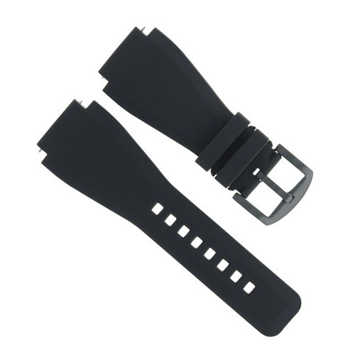 24MM RUBBER WATCH BAND STRAP FOR SONY SMART WATCH 2 II WATCH BRUSH BUCKLE
