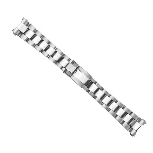 OYSTER WATCH BAND BRACELET FOR 36MM ROLEX DAYTONA WATCH FLIP LOCK P/C 20MM END