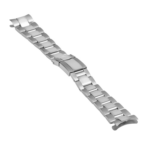 OYSTER WATCH BAND BRACELET FOR 36MM ROLEX DAYTONA WATCH FLIP LOCK P/C 20MM END