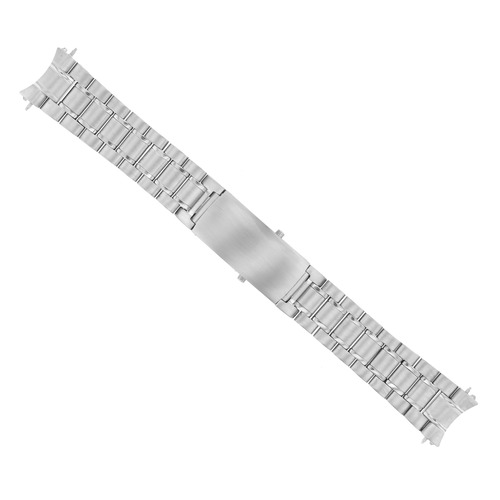 18MM WATCH BAND SOLID LINK  BRACELET FOR OMEGA SPEEDMASTER 3510.50 S/STEEL HEAVY