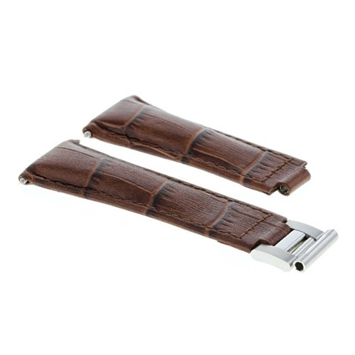 LEATHER WATCH STRAP BAND FOR ROLEX DAYTONA 16518 16519 116520 116523  L/BROWN