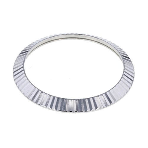 FLUTED  BEZEL 41MM FOR ROLEX DATEJUST II  116300 116333 116334 STAINLESS STEEL