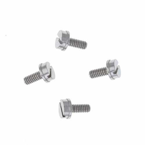 4 REPLACEMENT CASE FACE FRONT COVER SCREW FOR BELL & ROSS POLISH STAINLESS STEEL
