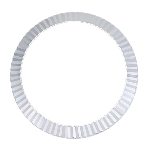 FLUTED BEZEL FOR 41MM ROLEX DATEJUST II DAY DATE 116300 116333 116334 +GASKET SS