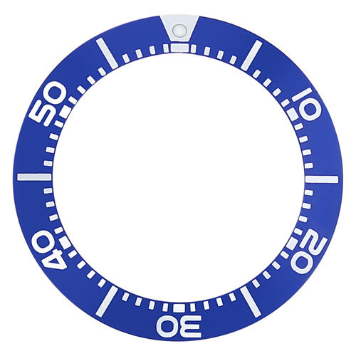 BEZEL INSERT FOR SEIKO WATCH PROSPEX SBCZ025 KINETIC DIVER SCUBA 200M WATCH BLUE