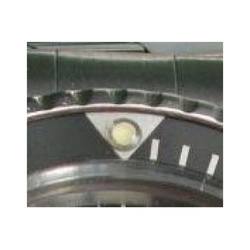 BEZEL INSERT FOR VINTAGE ROLEX SUBMARINER 5508/5512 PLASTIC (ACRYLIC) PEARL @12