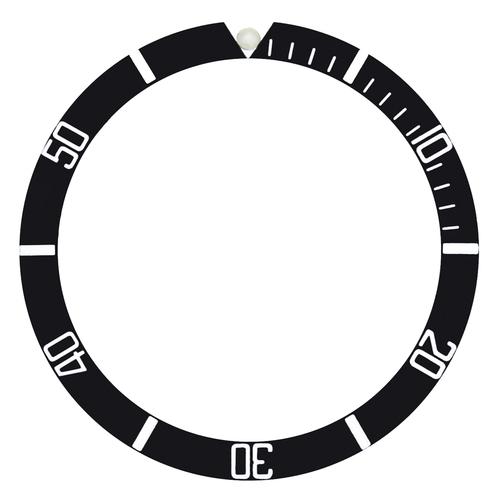 BEZEL INSERT FOR VINTAGE ROLEX SEADWELLER 1665 WATCH PLASTIC (ACRYLIC) PEARL @12