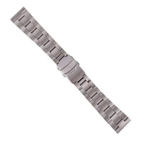 22MM SOLID OYSTER WATCH BAND FOR TUDOR HERITAGE BLACK BAY STRAIGHT END