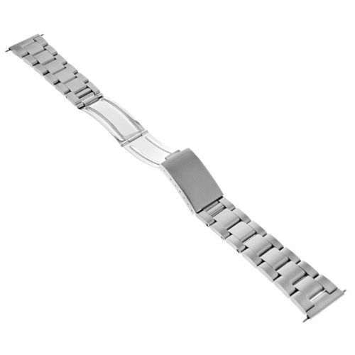 19MM HEAVY OYSTER WATCH BAND BRACELET FOR TAG HEUER F1 SPEEDMASTER STRAIGHT END