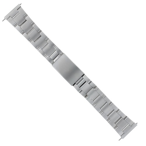 19MM HEAVY OYSTER WATCH BAND BRACELET FOR TAG HEUER  SPEEDMASTER STRAIGHT END