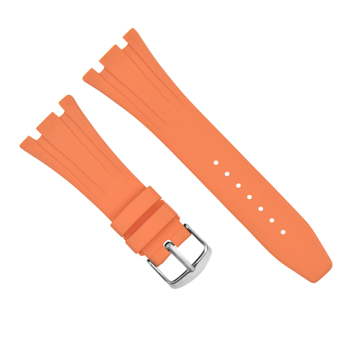 28MM AP RUBBER BAND STRAP FOR 42MM AUDEMARS PIGUET ROYAL OAK OFFSHORE ORANGE