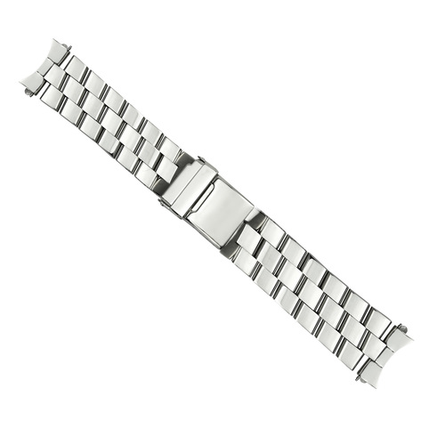 24MM WATCH BAND BRACELET FOR BREITLING SUPEROCEAN ABYSS COLT BRUSHED CURVED END