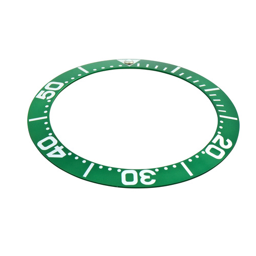 BEZEL INSERT FOR INVICTA 0420 PRO DIVER GRAND COLLECTION 6998 AUTOMATIC GREEN