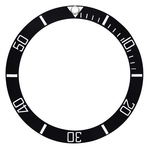 NEW HIGHT QUALITY BLACK CERAMIC BEZEL INSERT FOR 44MM ROLEX DEEPSEA 116660 DSSD