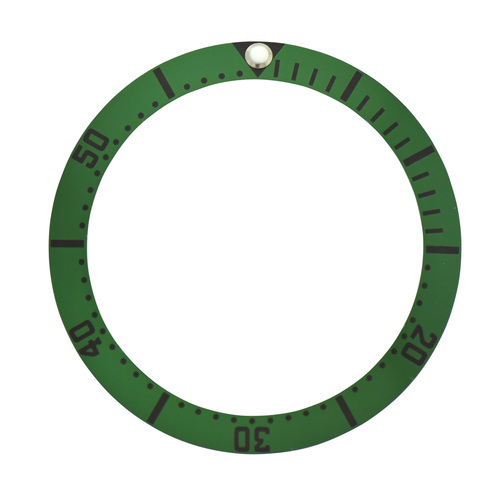 BEZEL INSERT FOR 41MM OMEGA SEAMASTER PLANET OCEAN JAMES BOND FIT 41MM GREEN
