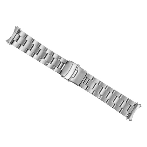 22MM WATCH BAND FOR SEIKO 5 AUTOMATIC WATCH SOLID LINK STAINLESS STEEL T.QUALITY
