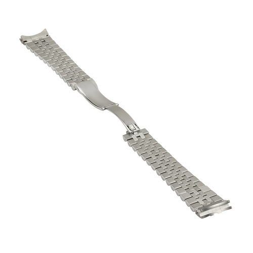 21MM JUBILEE WATCH BAND FOR  ROLEX 41 OR 41MM DATEJUST II 2 STAINLESS SOLID END