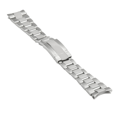 21MM OYSTER WATCH BAND FOR ROLEX 41MM DATEJUST II 2 STAINLESS STEEL SOLID END