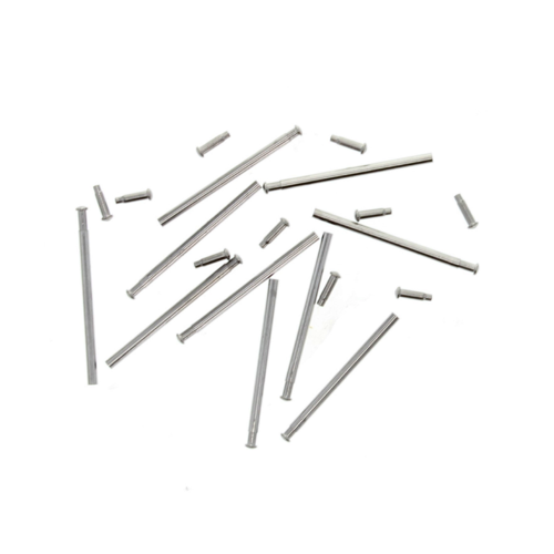 10 SET 18MM TUBE FRICTION PINS FOR FIXING CITIZEN ECO DRIVE WATCH BAND CLASP F/L