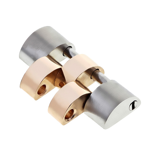 JUBILEE WATCH BAND SOLID LINK FOR 41MM ROLEX 116233,126303 REAL18K/S ROSE GOLD