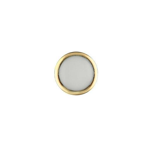 PEARL PIP FOR BEZEL INSERT ROLEX SUBMARINER CERAMIC 116613 BLUE LUME GOLD USA