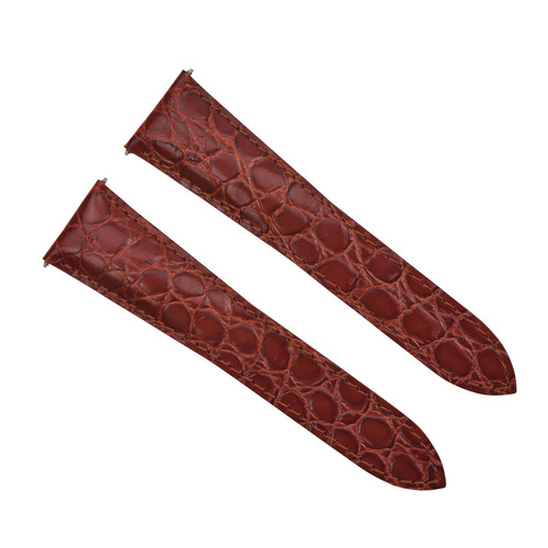 18MM REPLACEMENT LEATHER WATCH BAND STRAP FOR CARTIER SANTOS TANK RONDE SOLO