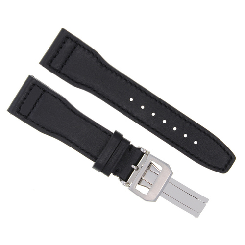 20-21-22-23MM LEATHER WATCH BAND STRAP FOR IWC PILOT PORTUGUESE TOP GUN + CLASP