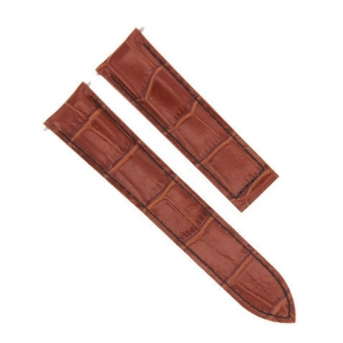 20MM REPLACEMENT LEATHER WATCH BAND STRAP FOR CARTIER TANK FRANCAISE 2564 WATCH
