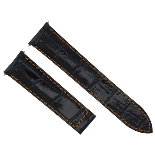 20MM REPLACEMENT LEATHER WATCH BAND STRAP FOR CARTIER TANK FRANCAISE WITH CLASP